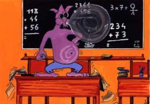 E.T. na sala de aula