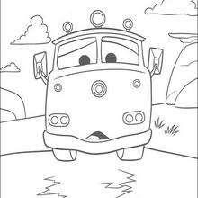 Carros: o caminhão-bombeiro vermelho