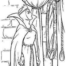 A Bruxa e o espelho mágico