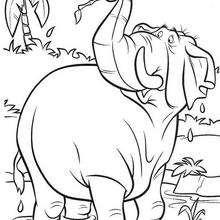 Colorindo GRATIS o elefante