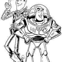 Os melhores amigos: Woody e Buzz