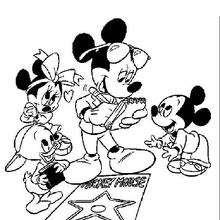 O Mickey em Hollywood