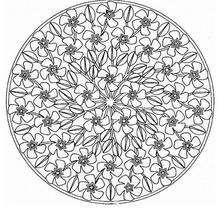 Mandala repleto de flores