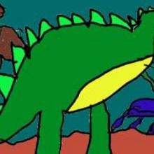 Dinossauro faminto