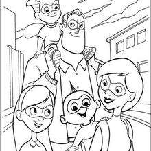 A Família do Sr. Incrível