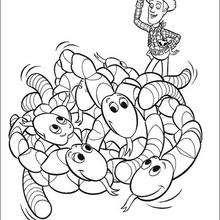 Woody e as cobras