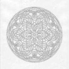 Mandala de espaguete