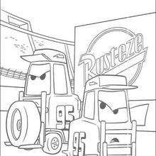 Carros: a empilhadeira
