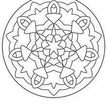 Imprimir Mandala GRATIS para colorir