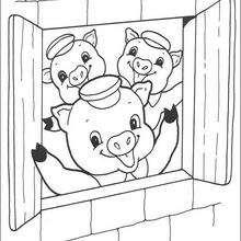 Paginas Para Colorir Os Tres Porquinhos Desenhos Para Colorir