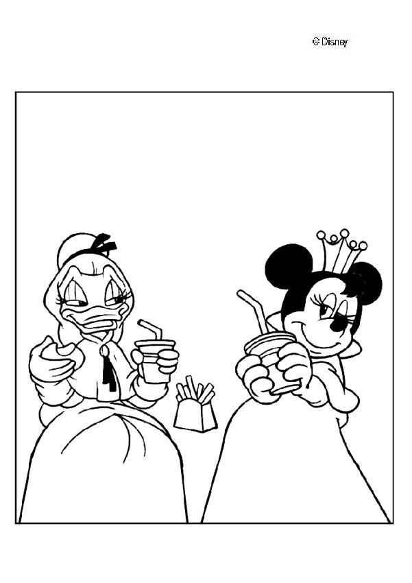 A Princesa Margarida e a Minnie