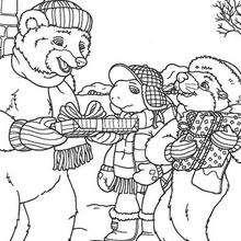 Franklin, Urso e o Castor no Natal