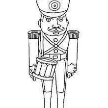 Desenho de Soldados para colorir