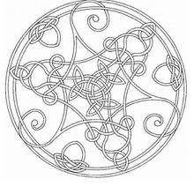 Lindo Mandala delicado para colorir