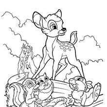 Bambi e seus amigos