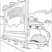 Carros: o carro do Xerife