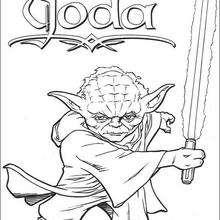 O mestre Yoda