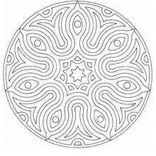 Colorindo Mandala com olhos