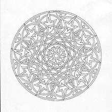 Mandala com superposições