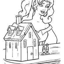 Desenho para colorir : Esmeralda