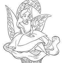 Alice sentada