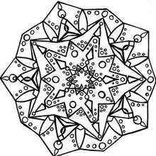 Mandala estrelado