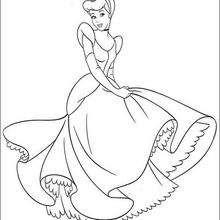 Cinderela dançando