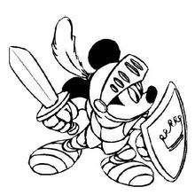 Mickey, o cavaleiro