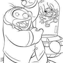 Stitch capturado pelo Dr. Jumba