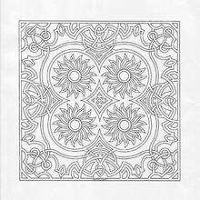 Desenhos de MANDALAS florais para colorir