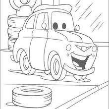 Carros: carro na garagem