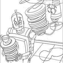 Colorindo os robôs GRATIS