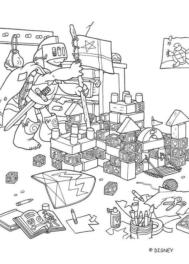 Desenho No Quarto ~ Desenhos para colorir de desenho do franklin no seu quarto para colorir pt hellokids com