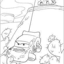 Carros: Mate salvando o seu amigo Relâmpago Mc Queen