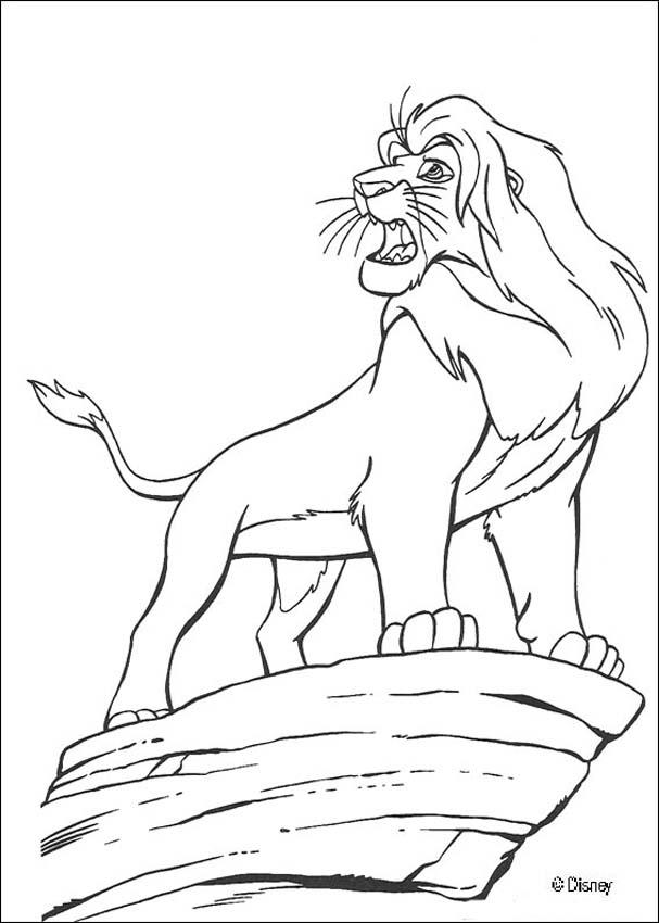 Paginas Para Colorir O Rei Leao Desenhos Para Colorir Imprima