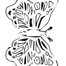 Desenho de uma linda Borboleta para colorir