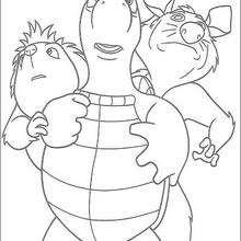 Verne, Penny e Heather