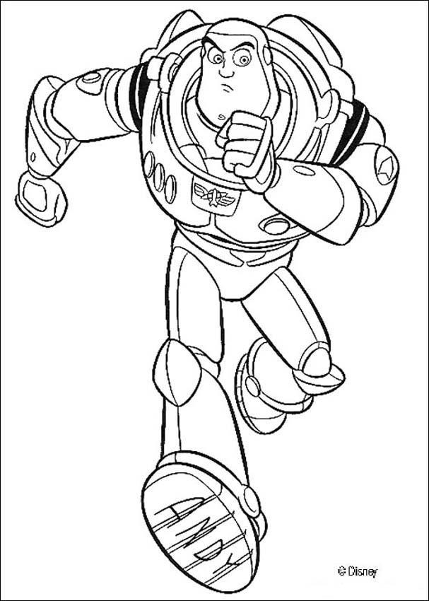 desenhos para colorir de buzz lightyear