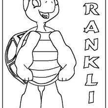 Desenho do Franklin para colorir