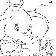 Dumbo e Timóteo brincando