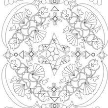Mandala com leques