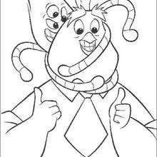 Kirby Alien e o pai do Galinho Chicken Little