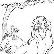 Simba e Mufasa
