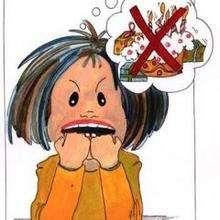 Menina faminta