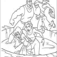 A emboscada do Capitão e da Helga