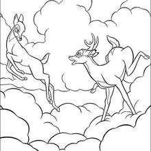 Bambi nas nuvens