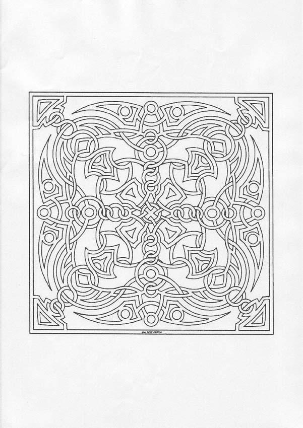 Desenhos de Mandala para colorir