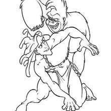 Tarzan e o seu pai adotivo