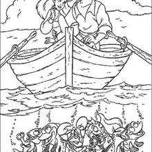 Ariel com o Príncipe Eric