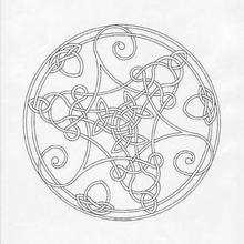 Delicado Mandala para se colorir GRATIS